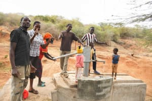 The Water Project: Yathui Community A -  Thumbs Up
