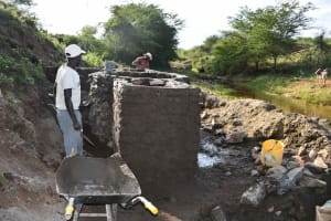 The Water Project: Yathui Community A -  Walls