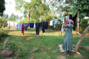 The Water Project: Murumba Community, Patrick Muyembere Spring -  Clothesline