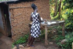 The Water Project: Murumba Community, Patrick Muyembere Spring -  Dishrack