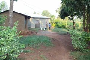 The Water Project: Murumba Community, Patrick Muyembere Spring -  Homestead
