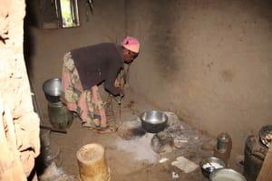 The Water Project: Murumba Community, Patrick Muyembere Spring -  Inside Kitchen