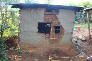 The Water Project: Murumba Community, Patrick Muyembere Spring -  Outside Kitchen