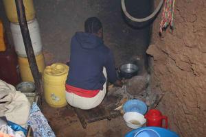 The Water Project: Murumba Community, Patrick Muyembere Spring -  Preparing A Meal