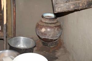 The Water Project: Murumba Community, Patrick Muyembere Spring -  Storage Container