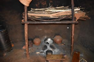 The Water Project: Chimoroni Community, Maurice Luta Spring -  Fireplace