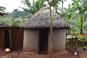 The Water Project: Chimoroni Community, Maurice Luta Spring -  Kitchen
