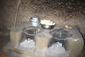 The Water Project: Shiana Community, Masiache Spring -  Inside The Kitchen