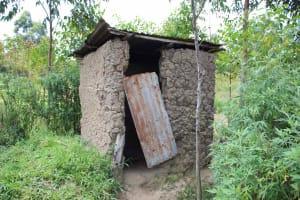 The Water Project: Shiana Community, Masiache Spring -  Latrine