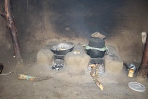 The Water Project: Shiana Community, Masiache Spring -  The Cooking Area