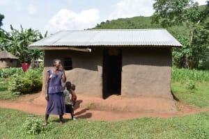 The Water Project: Mungakha Community, Mungakha Spring -  Caroline At Her House