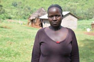 The Water Project: Mungakha Community, Mungakha Spring -  Judith Mwachi