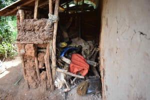 The Water Project: Mungakha Community, Mungakha Spring -  Firewood Stove