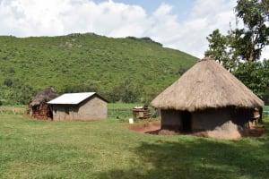 The Water Project: Mungakha Community, Mungakha Spring -  Mwachis Homestead