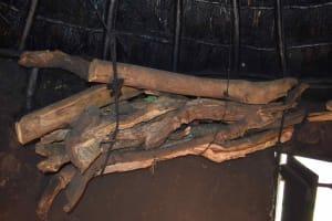 The Water Project: Mungakha Community, Mungakha Spring -  Kitchen Firewood