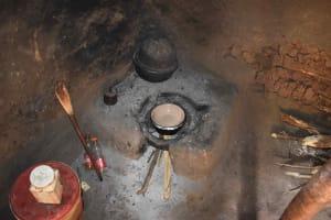 The Water Project: Mungakha Community, Mungakha Spring -  Traditional Cook Stove