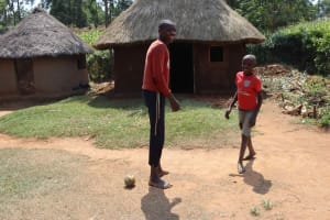 The Water Project: Makunga Community, Akinda Spring -  Children Playing