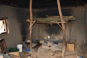 The Water Project: Makunga Community, Akinda Spring -  Inside The Kitchen