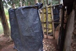 The Water Project: Makunga Community, Malaha Spring -  Bathroom