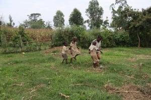 The Water Project: Makunga Community, Malaha Spring -  Children Playing