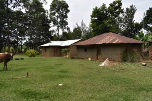 The Water Project: Makunga Community, Malaha Spring -  Homestead