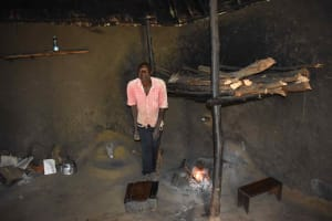 The Water Project: Makunga Community, Malaha Spring -  Inside Kitchen With Julias