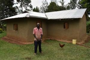 The Water Project: Makunga Community, Malaha Spring -  Julias Mitosis At His Home