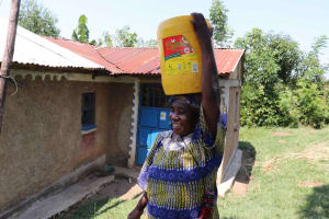 The Water Project: Emulele Community, Fanice Opati Spring -  Almost Home