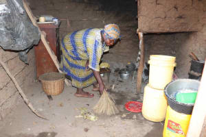 The Water Project: Emulele Community, Fanice Opati Spring -  Cleaning