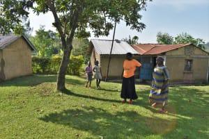 The Water Project: Emulele Community, Fanice Opati Spring -  Homestead