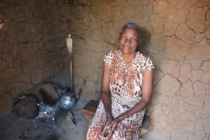 The Water Project: Emulele Community, Fanice Opati Spring -  Inside Kitchen