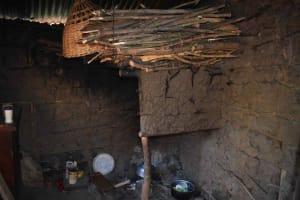 The Water Project: Emulele Community, Fanice Opati Spring -  Kitchen