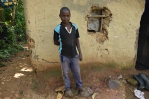 The Water Project: Isembe Community, Mangala Spring -  Daniel W