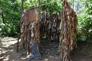 The Water Project: Isembe Community, Mangala Spring -  Bathroom