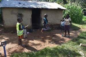 The Water Project: Isembe Community, Mangala Spring -  Children Playing