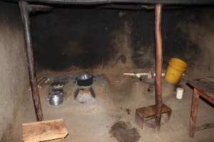 The Water Project: Isembe Community, Mangala Spring -  Inside Kitchen