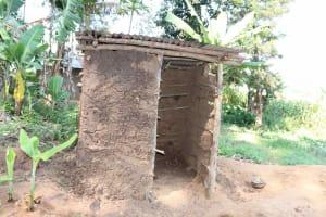 The Water Project: Isembe Community, Mangala Spring -  Latrine