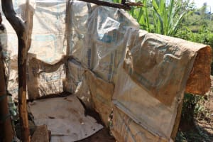 The Water Project: Isembe Community, Inyende Spring -  Bathroom