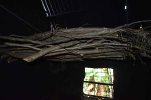 The Water Project: Isembe Community, Inyende Spring -  Firewood Rack