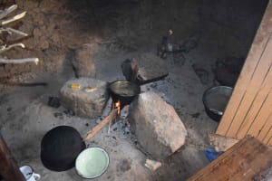 The Water Project: Isembe Community, Inyende Spring -  Inside Kitchen