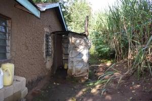 The Water Project: Emaongoyo Community, Philip Mwando Spring -  Bathroom