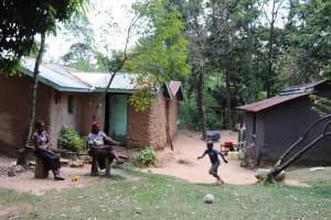 The Water Project: Emaongoyo Community, Philip Mwando Spring -  Community