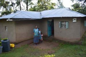 The Water Project: Emaongoyo Community, Philip Mwando Spring -  Homestead