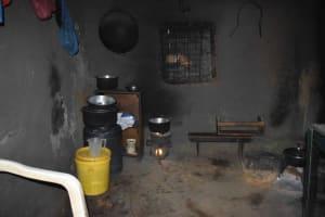 The Water Project: Emaongoyo Community, Philip Mwando Spring -  Inside Kitchen