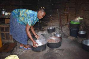 The Water Project: Emaongoyo Community, Philip Mwando Spring -  Julia In Kitchen