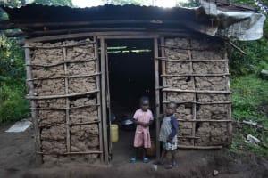 The Water Project: Emaongoyo Community, Philip Mwando Spring -  Outside Kitchen