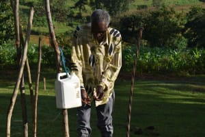The Water Project: Emaongoyo Community, Philip Mwando Spring -  Washing Hands