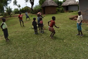 The Water Project: Lunyinya Community, Steven Shitundo Spring -  Children Playing