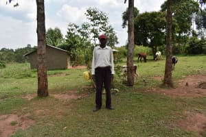 The Water Project: Lunyinya Community, Steven Shitundo Spring -  Steven Ondodi