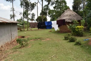 The Water Project: Lunyinya Community, Steven Shitundo Spring -  Clothesline